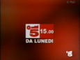 Canale 5 - white and red 1994