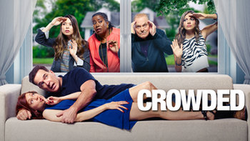 Crowded NBC tv show logo
