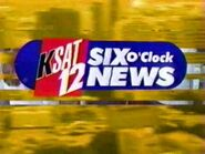 KSAT 12 Six O'Clock News 2002 Open
