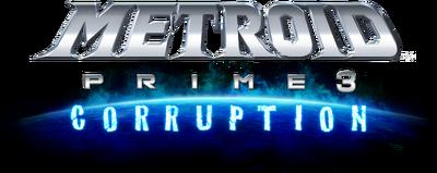 Metroid Prime 3 logo (Transparent)
