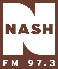 Nash FM 97.3 2013 logo