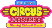 The Great Circus Mystery starring Mickey and Minnie Logo