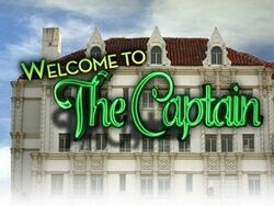 Welcome to the captain poster