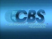 CBS Broadcast International Presentation 1984-1987