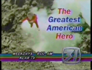 KLAX-TV The Greatest American Hero Promo