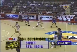 PBA on Vintage Sports scorebug 1994