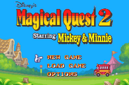 Title Screen and Main Menu