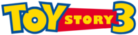 Toy story 3 logo (horizontal)