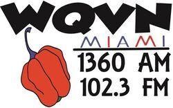 WQVN 1360 AM 102.3 FM