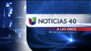 Wuvc noticias univision 40 11pm package 2016