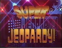 Super Jeopardy! Font Title