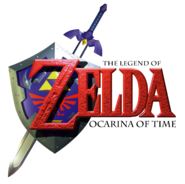 TLOZ Ocarina of Time logo