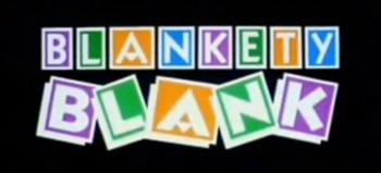 Blankety Blank 1986