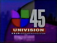 Kxln univision 45 nightly opening 1996