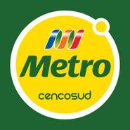 Metro logo 2011 con fondo verde