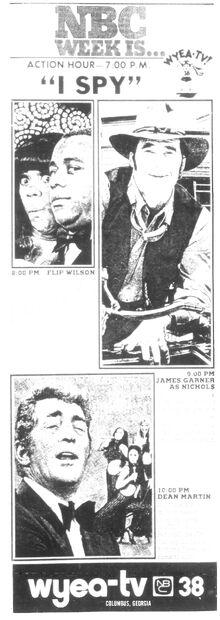 Wyea nbc38 1971