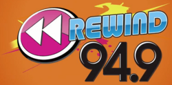 2013 WREW Rewind 94.9 Logo