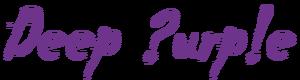 Deep purple now what logo
