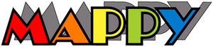 Mappy arcade logo