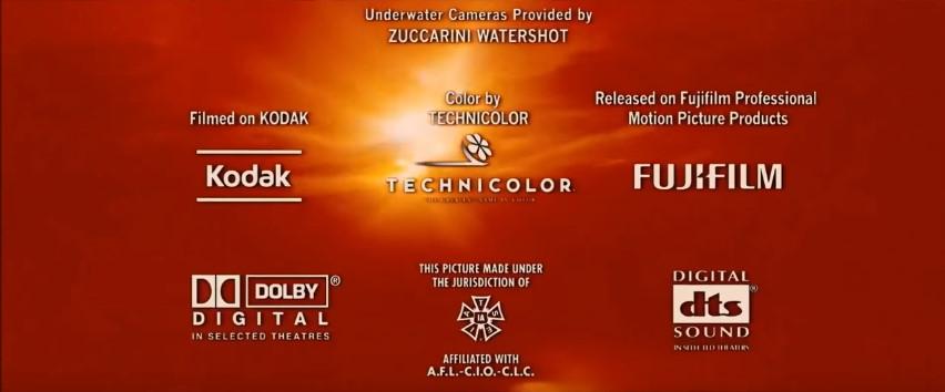 Piranha Kodak Technicolor Fujifilm Dolby IATSE DTS
