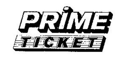 Prime Ticket Logo 1985-1994