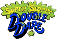 Super Sloppy Double Dare blue logo