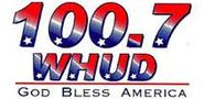 WHUD-FM's 100.7's God Bless America Logo From Late 2001
