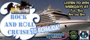 WPDH-FM's 101.5's Rock And Roll Cruise To Bermuda Sweepstakes Promo From April 2012