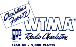 WTMA Charleston 1955