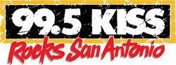 99.5 KISS-FM logo