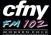 CFNY - FM 102 - 1989