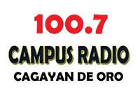 Campus Radio 100.7 Cagayan de Oro Logo July 2002