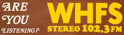 WHFS Bethesda 1972