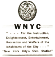 WNYC New York 1940