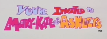 You're Invited to Mary-Kate and Ashley's logo