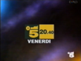 Canale 5 - green and yellow 1994