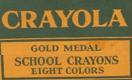 Crayola Crayons 1944