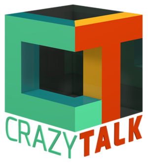 Crazy Talk show logo