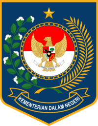 Logo of the Ministry of Home Affairs of the Republic of Indonesia