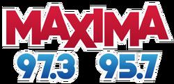 Maxima 97.3 95.7 WAXA-WNPL