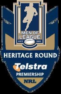 NRL Heritage Round Logo