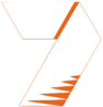 Seven Sport White:Orange
