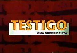 Testigo GMA Super Balita 2000