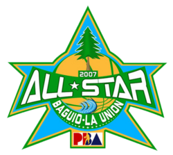 2007 PBA All-Star Weekend logo