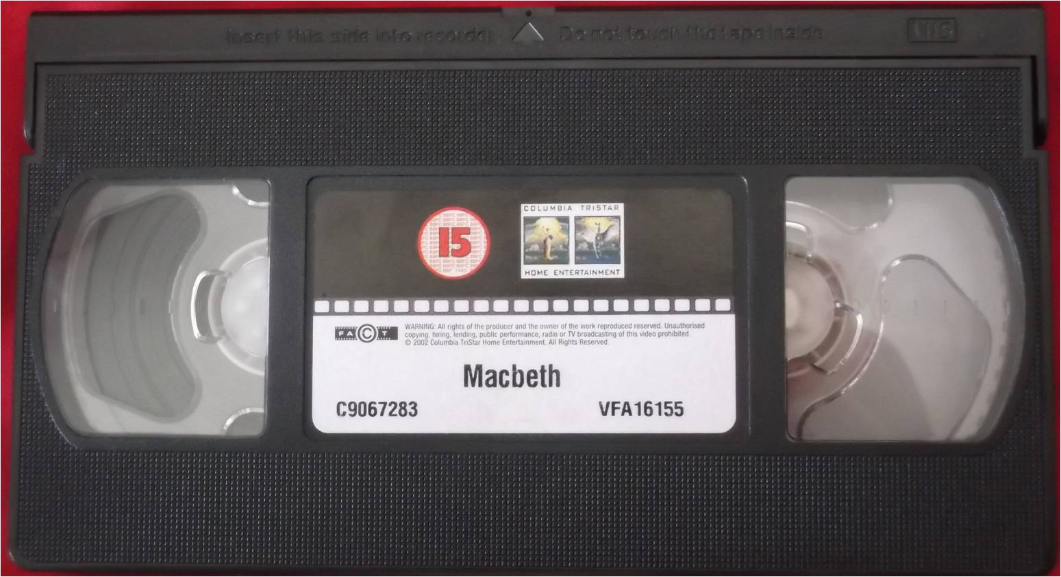 image - columbia tristar home video 2003 alternative vhs tape