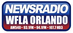 Newsradio WFLA Orlando 540 AM 93.1 94.1 FM