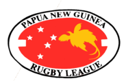 Papua New Guinea Rugby League 1970s-2006 old logo