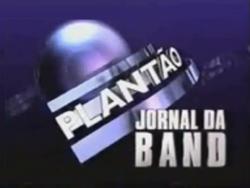 Plantão Jornal da Band 1997