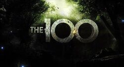 Series logo for The 100