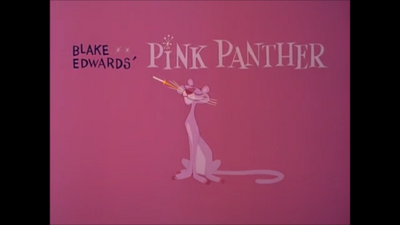 The Pink Panther Title Screen